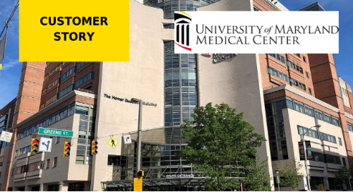 University of Maryland Medical Center Utilizes Technology to Streamline Processes