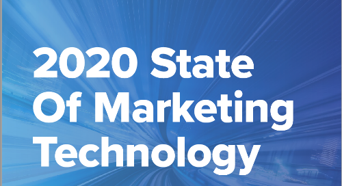 2020 State of Marketing Technology Report