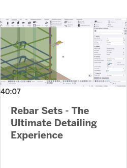 Rebar Sets - The Ultimate Detailing Experience