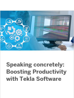 Как повысить продуктивность с программным обеспечением Tekla (анг.)