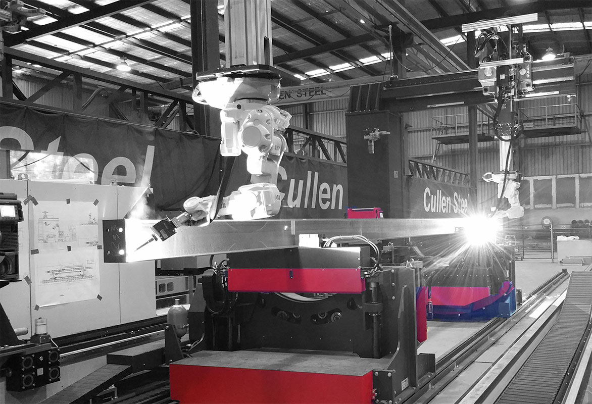 To compete in the tough market Cullen Steel relies on quality information, automation and delivering exactly what the client has ordered.