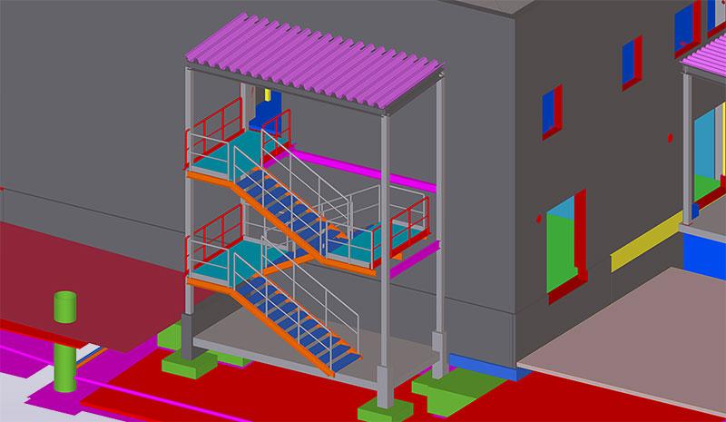 Kainuu Hospital model detail