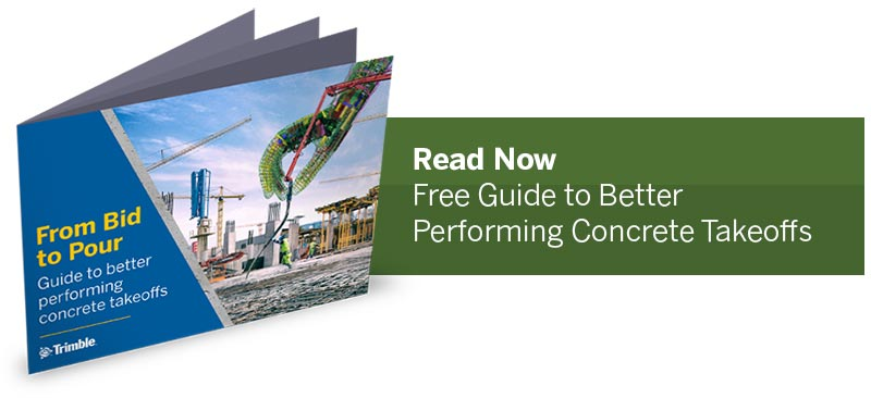 Ebook: Better Performing Concrete Takeoffs - Estimator's Guide