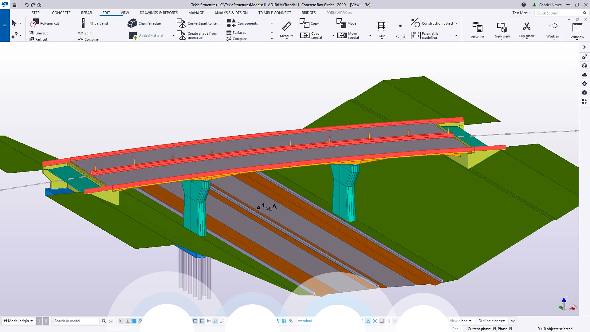 Advanced BrIM - Tekla Screenshot