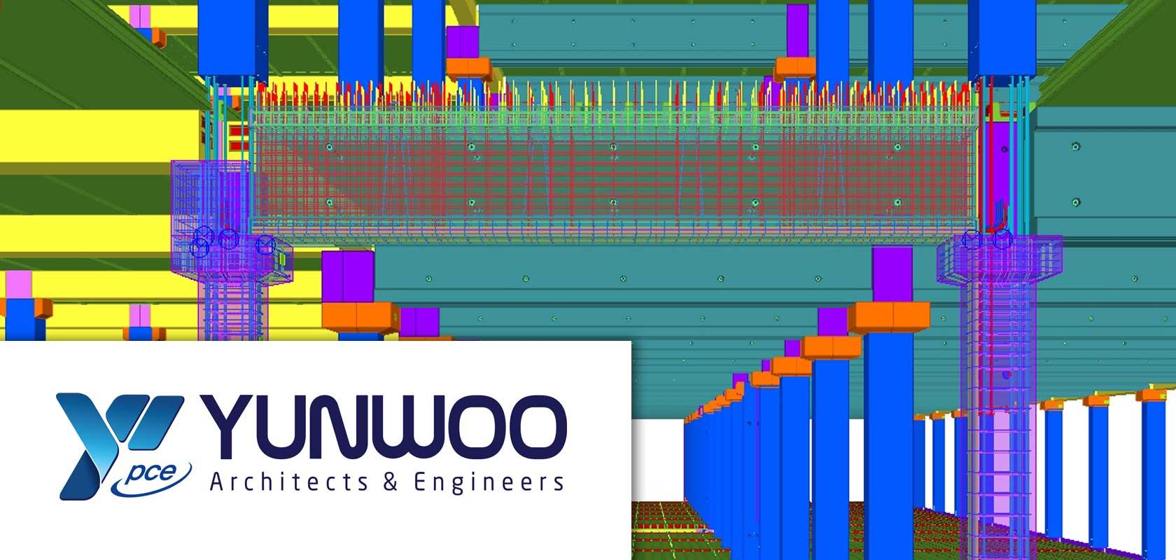 Yunwoo PCE adapts Tekla software