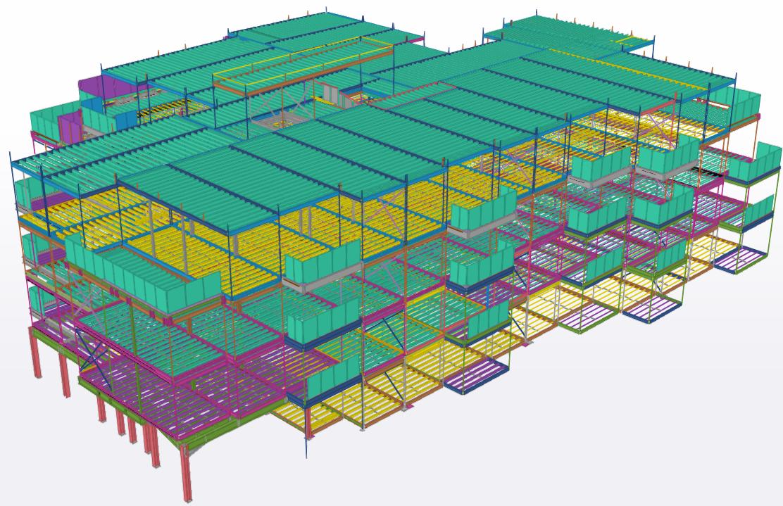 Modular volumetric example by ESS modular - Spectrum House