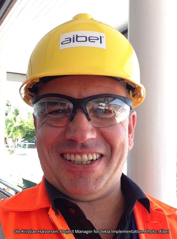 Ole Kristian Halvorsen, Project Manager for Tekla  Implementation. Photo: Aibel