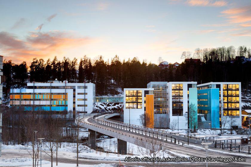 Aibel's offices in Asker/Oslo. Photo: Olav Heggø/Aibel