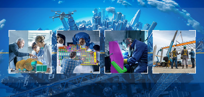 Design, detail, fabricate and construct with truly constructible Tekla models