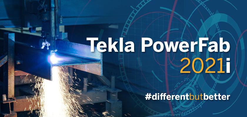 Tekla PowerFab 2021i is released on September 15th, 2021