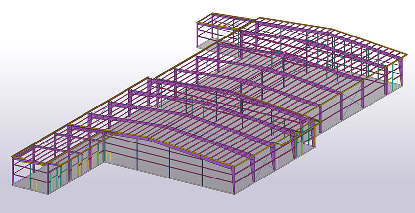 Tekla Structures brings benefits to more complex metal buildings