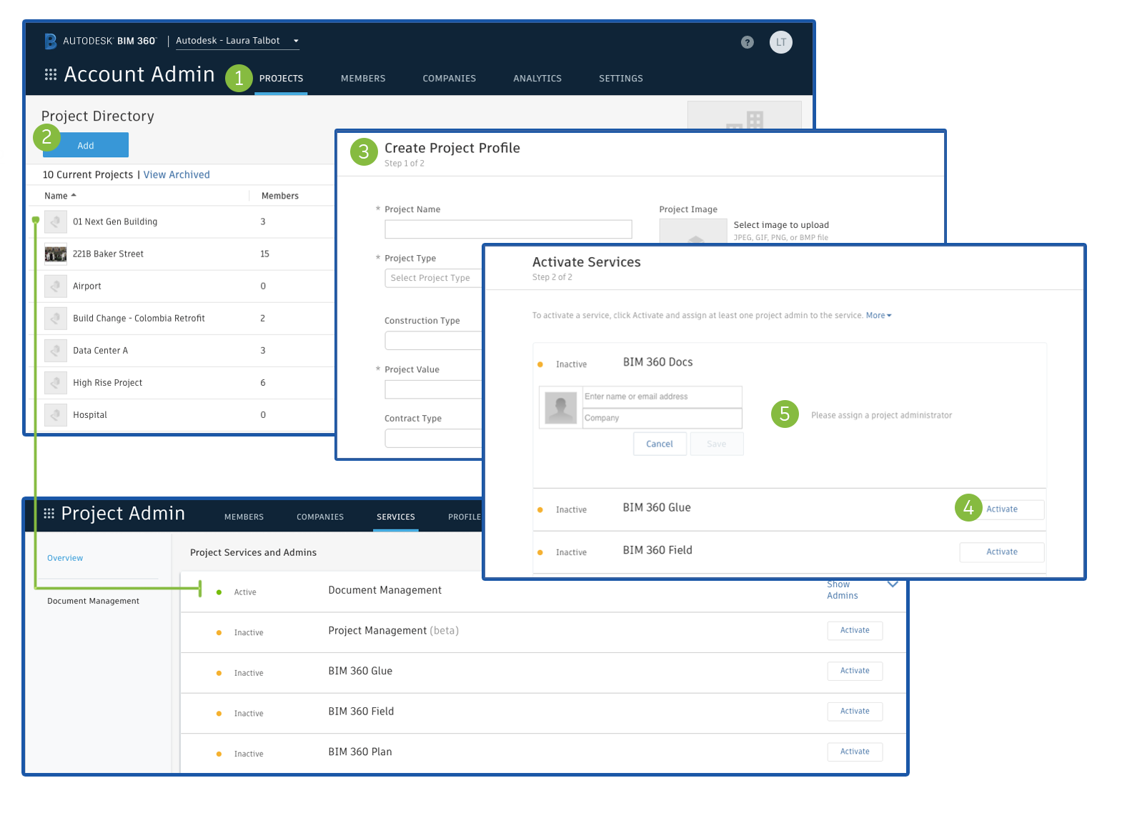 Getting Started with BIM 360 Project Admin