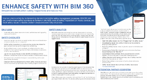 Enhance Safety with BIM 360