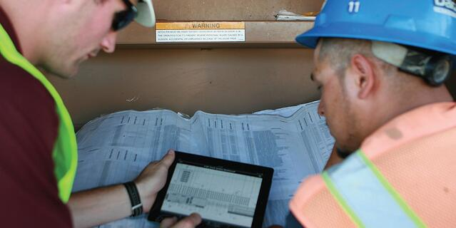 Construction Apps for iPad iPhone - Workers Use on site