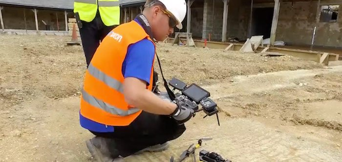 Using Drones for Construction Management