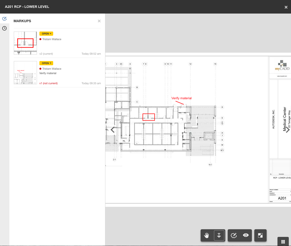 Autodesk BIM 360 Docs Design Constructability Reviews 3