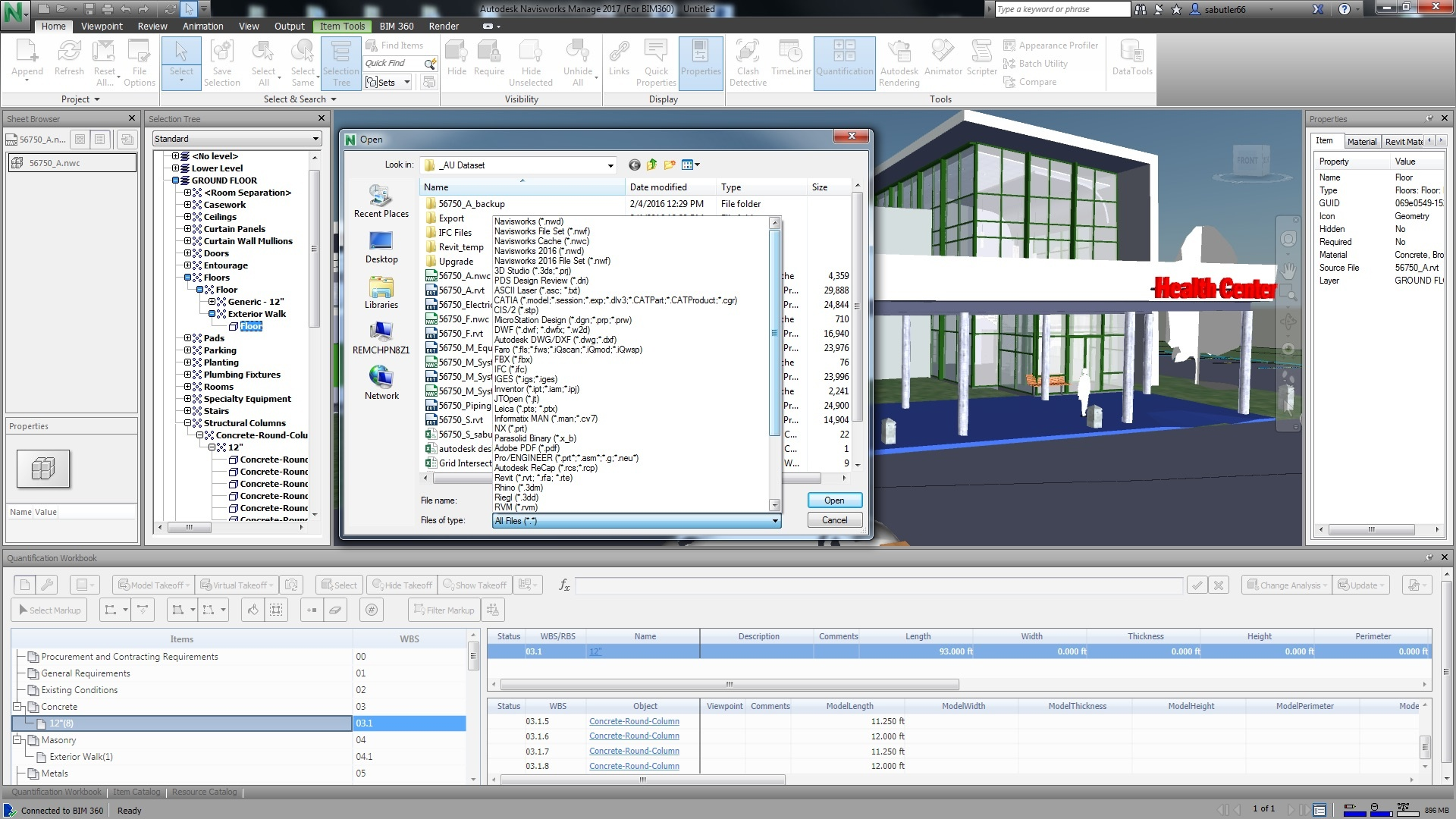 Autodesk BIM 360 Navisworks 2017 Product Integration