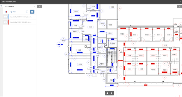 BIM 360 Docs Compare Sheets