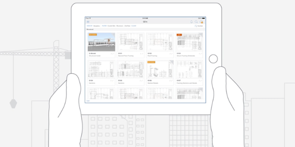 BIM 360 Docs Construction App Tablet