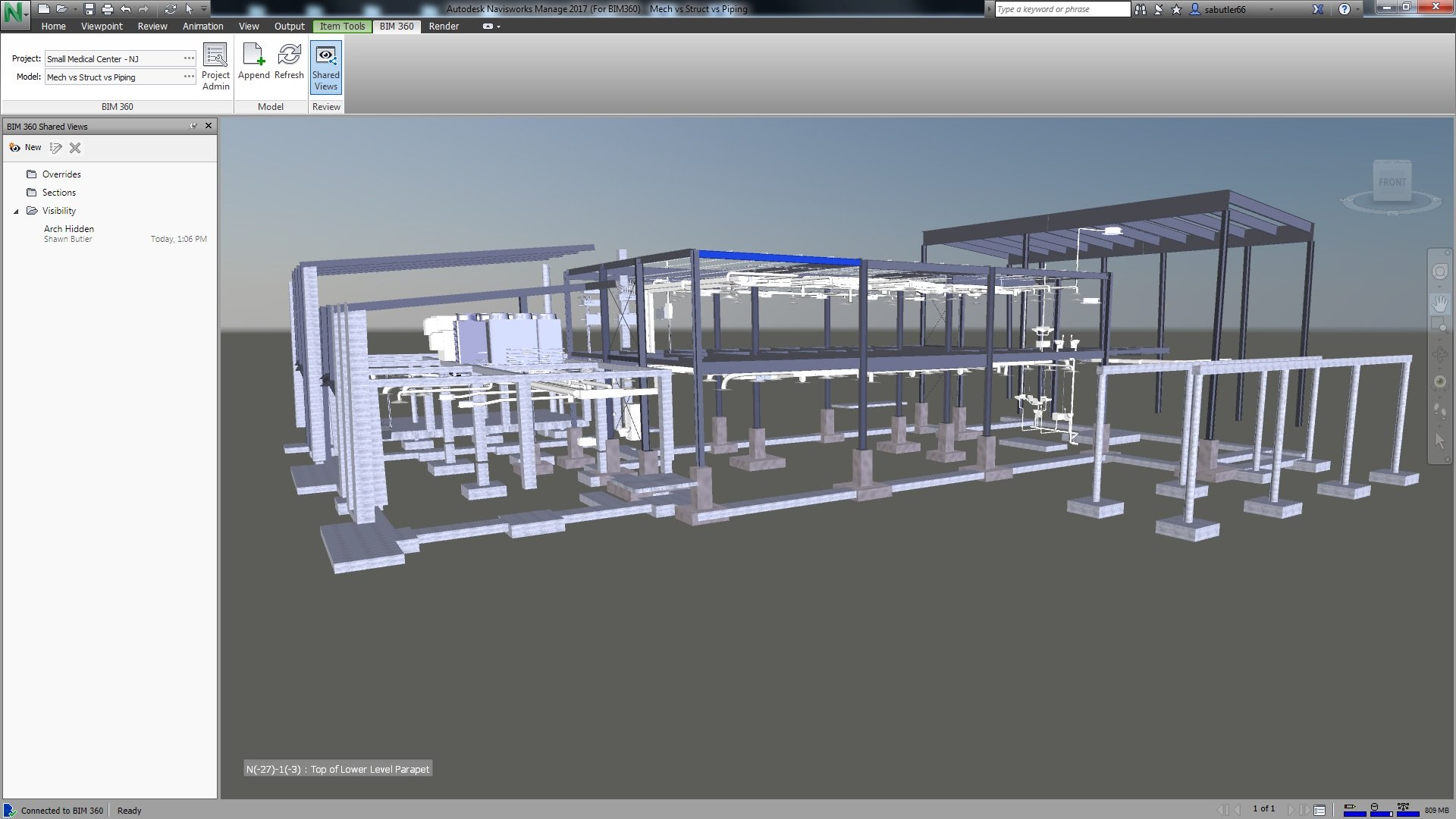 BIM 360 Navisworks Shared Views