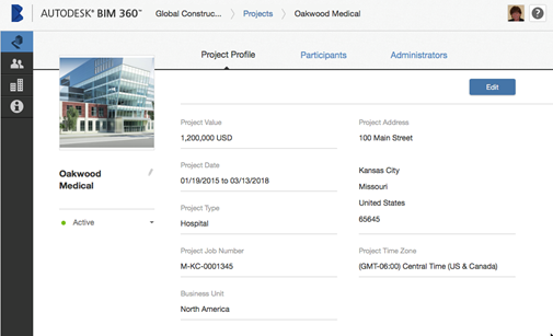 Construction Management Software BIM 360 HQ Screenshot
