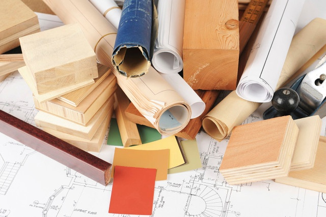 Construction Project Software - Messy Blueprints
