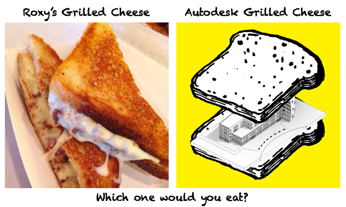 Roxy's Grilled Cheese vs Autodesk BUILD X GC