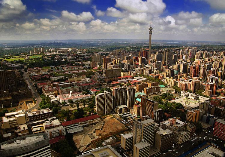 Ariel Image of Johannesburg