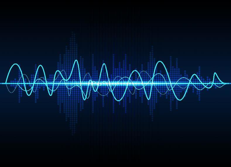 line graph voice recording