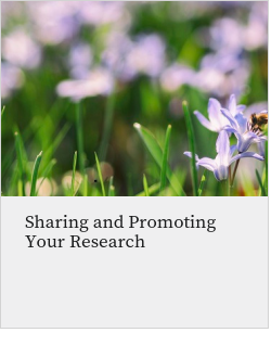 Sharing and Promoting Your Research