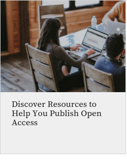 Discover Resources to Help You Publish Open Access