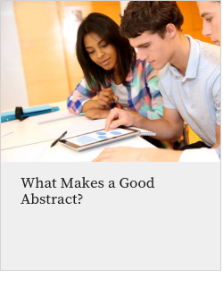 What Makes a Good Abstract?