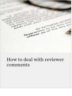 How to deal with reviewer comments