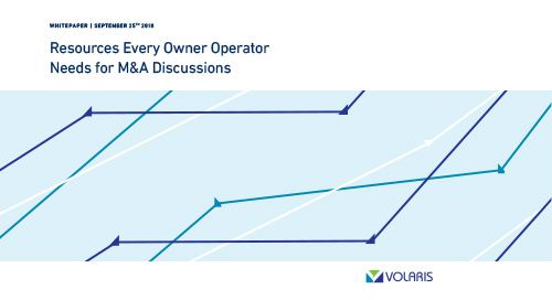 Resources Every Owner Operator Needs for M&A Discussions