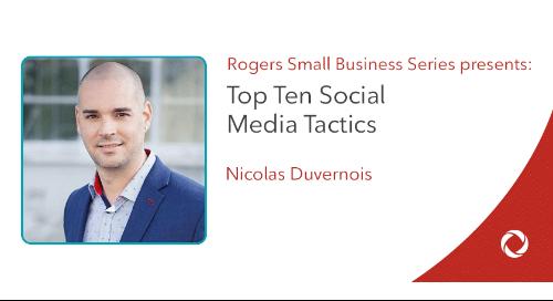 Top Ten Social Media Tactics