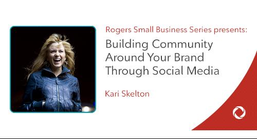 Get Engaged: Building community around your brand thru social media