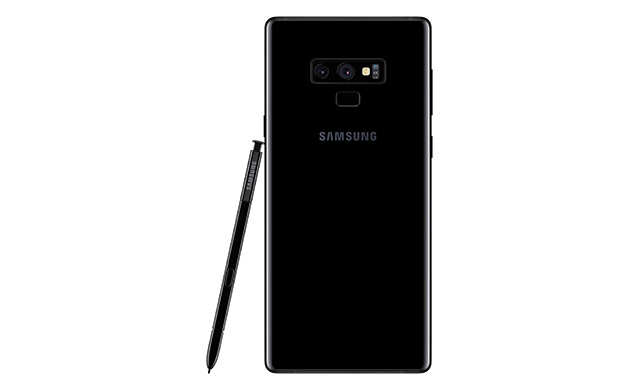 Samsung Galaxy Note9 with the S Pen