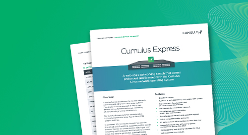 Cumulus Express datasheet