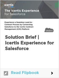 Solution Brief | Icertis Experience for Salesforce