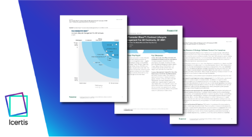 The Forrester Wave™: Contract Lifecycle Management For All Contracts, Q1 2021