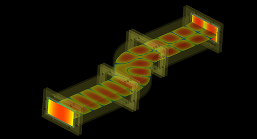 Waveguide Examples Using XFdtd