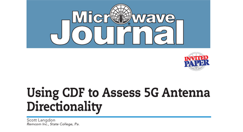 Using CDF to Assess 5G Antenna Directionality