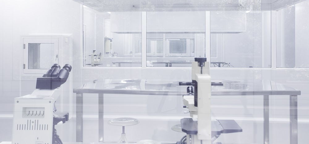 Cleanroom for pharmaceutical manufacturer