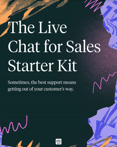 The Live Chat for Sales Starter Kit