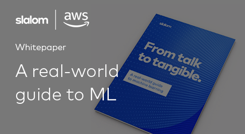 Slalom: From Talk to Tangible. A Real-World Guide to Machine Learning