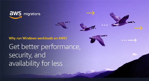 Modernize Windows workloads by migrating to AWS