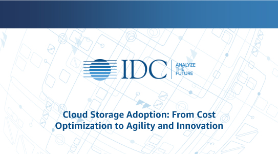 Cloud Storage Adoption: From Cost Optimization to Agility and Innovation