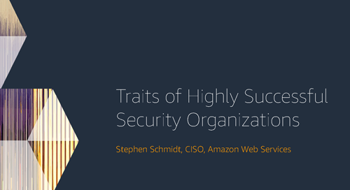 Traits of Highly Successful Security Organizations