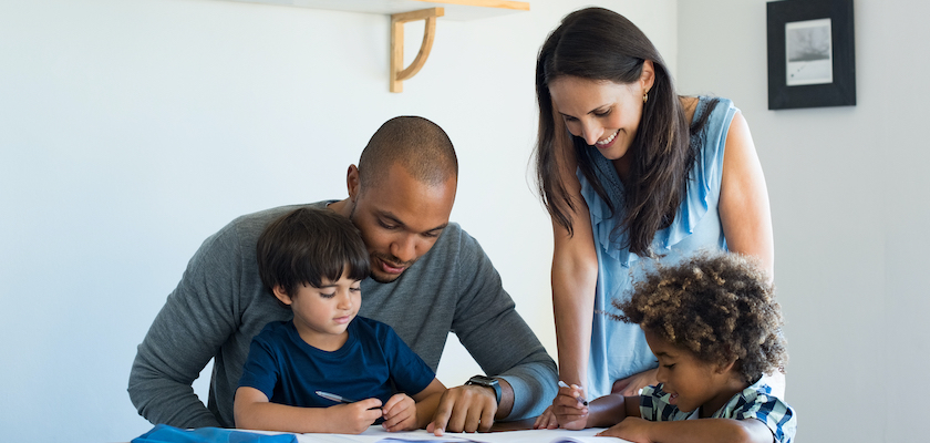 Brands support allowing multi-ethnic family to spend quality time together at home
