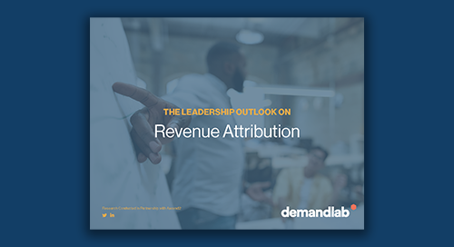 The Leadership Outlook on Revenue Attribution
